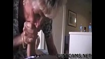 Grandmas Roommate Getting Fed Cum - More at cuntcams.net Vorschaubild