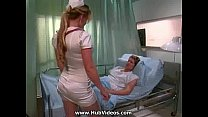 Busty blond nurse fucked on bed - Free Big Tits