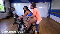 BANGBROS - Curvy Latina Rose Monroe Fucked in Spin Class by Brick Danger thumbnail