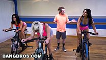 BANGBROS - Curvy Latina Rose Monroe Fucked in Spin Class by Brick Danger - 9Club.Top