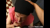 Muscle Guy Fucks Ugly Granny Vorschaubild