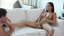 Passion-HD - Sexy Nina North steamy masturbation and fuck thumbnail