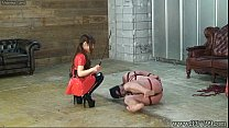 teen mom fucked & Japanese BDSM Hanging Upside Down Slave