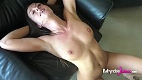 Busty natural Rahyndee James raw fucking POV ta...