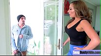 (Richelle Ryan) Superb Busty Housewife Get Hard Bang On Cam movie-19