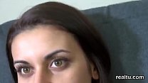 Stunning czech girl gets tempted in the supermarket and shagged in pov