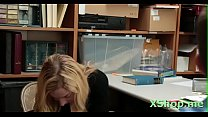 Insatiable young Zoe Parker flirts with a stranger