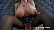 Cum Swallowing Queen Gets Fucked And Eats Loads