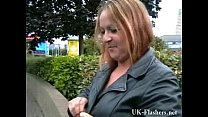 Busty milf Ginas public nudity and english flashers rude outdoor exhibitionist Preview