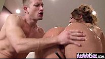 Curvy Ass Girl (klara gold) Get Oiled And Anal Hard Sex movie-16 preview image
