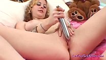 Dirty Cherry loves her sex toys