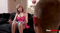 Blonde milf fucks the electrician- amber chase