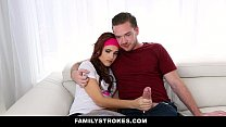 FamilyStrokes - Teen Fucks Brother Almost Caught By Dad image