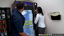 Brazzers - Big Tits at Work - Fucking the Vending Machine Dude scene starring Juelz Ventura and John's Thumb