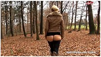 Deutsche Busty Blond Amateure beim Analsex