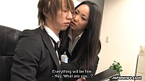 Asian Office Worker Getting Fucked And Thrashed  - 15