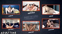 ADULT TIME Angela White Hosts OVER THE EDGE Jerk Off & Edging Challenge