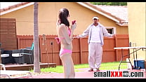 Tiny Brunette Teen Carolina Sweets Fucked By Swimming Instructor thumbnail
