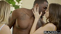 BLACKED Two Teen Girls Share a Huge BBC Preview