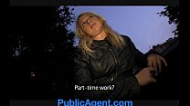 PublicAgent Blonde Student Monika Loves my Huge Dick thumbnail