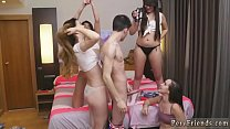Sex slave dinner party first time Deep Throat Challenge