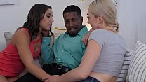 Interracial threesome with Lily LaBeau and Abella Danger ◦ {hot milf tits} thumbnail