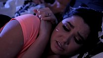 Karlee Grey sleeping with her stepmom Mindi Mink porn thumbnail
