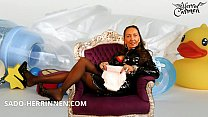 JOI for ABDL Diaper Slave Diaper Boy from German Mistress Herrin Carmen