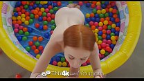 tiny4k-small-breasted-ginger-dolly-little-fucked-after-ball-pit-fun