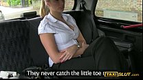 Woman with big tits gets banged at the backseat of a cab tumblr xxx video