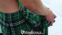 ManRoyale - Nate Grimes gets his lucky charm fucked for st patricks day