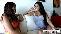 Diamond And Heather Silk Get Together For Some Hot Girl On Girl Action thumbnail