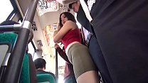 Hot Asian Teen Fucks On The Bus thumb