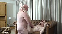10854 Old man fingers his online date pussy for the first time and she cums preview