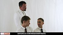 MissionaryBoyz - Missionary Boys Interviewed And Barebacked By Priest