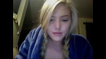 Blonde Teen on Cam - thesexycamgirls.com Thumbnail