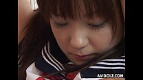 Cute Asian slut tied up and sexually treated - 9Club.Top