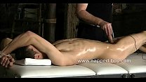 Bound Brez Wild gets his cock electrocuted by S...