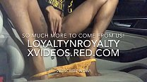 LOYALTYNROYALTY'S.. NASTY NEIGHBOR SQUIRTS IN R...