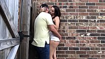 9008 Crazy girlfriend gives BlowJob on Alley - Lexi Aaane preview
