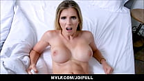 Horny Blonde MILF Step Mom Cory Chase Simulation Fucking You Her Step Son JOI POV