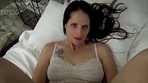 Mom & Son Share a Bed - Mom Wakes Up to Son Masturbating - POV, MILF, Family Sex, Mother - Christina Sapphire pornhub video