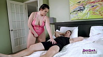 Hot and Thicc Step Daughter must always wear Lingerie - Britt James and Cory Chase
