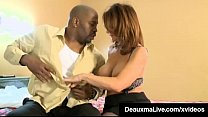 Busty Airline Cougar Deauxma Fucks A Big Black Cock in Hotel image