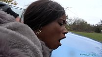 Public Agent British Ebony Queen Kiki Minaj Fucked Outside - download porn videos