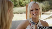 BLACKED First interracial threesome for Ash Hollywood and Kate England thumbnail