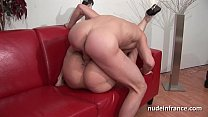 Image: Casting young french brunette deep anal pounded and fist fucked