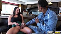 18750 BANGBROS - Busty Babe Angela White's Big Tits on Monsters of Cock preview