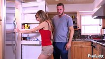 Jillian Janson Is Upset But Her Stepbrother Comforts Her