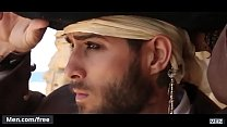Diego Sans and Paddy OBrian - Pirates A Gay Xxx Parody Part 4 - Super Gay Hero - Trailer preview - Men.com